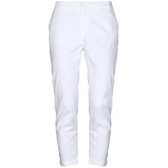 《セール開催中》LIU JO レディース パンツ ホワイト XS コットン 97% / ポリウレタン 3%