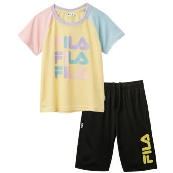 【FILA】Tスーツ(Tシャツ+ハーフパンツ)(女の子 子供服 ジュニア服) キッズジャージ