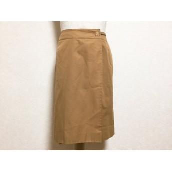 【中古】 バーバリーロンドン Burberry LONDON 巻きスカート サイズ42 XL レディース ベージュ
