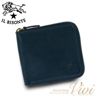 イルビゾンテ 二つ折り財布 メンズ IL BISONTE 二つ折り財布 C0990 866 ラッピング無料 UE9085 送料無料
