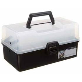 HP-320 ブラック[1-6810-01](黒) 樹脂製 3段式ツールボックス TOYO