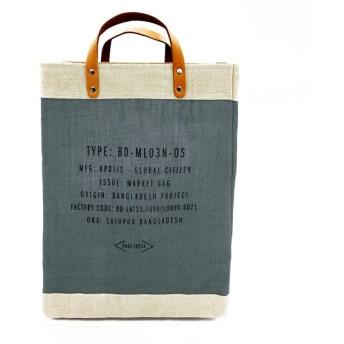 【アポリス(APOLIS)】 ◆◆マーケットバッグ チャコールグレー