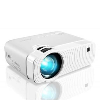 ELEPHAS 「令和」記念版 3600lm LED 小型プロジェクター 1080PフルHD対応 1920×1080最大解像度 パソコン/スマホ/タブレット/ゲーム機/DVDプレイヤーなど接続