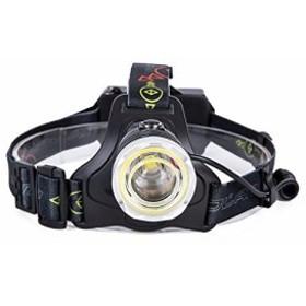 防水仕様 フォーカス調整 改良版凸面鏡 ズーム機能 超高輝度 5000ルーメン 充電式18650電 ヘッドライト Ameelie