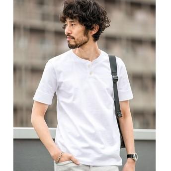 [マルイ] 【WEB限定】【19SS】アメリカンコットンヘンリーネックTシャツ 半袖/ナノ・ユニバース(メンズ)(nano universe)