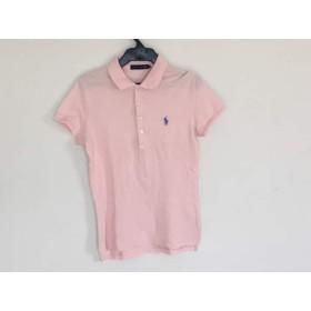 【中古】 ラルフローレン RalphLauren 半袖ポロシャツ サイズM レディース ピンク