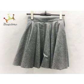 ミューズデドゥーズィエムクラス スカート サイズ36 S レディース 美品 グレー         スペシャル特価 20191228