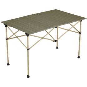 Coleman コールマン イージーロール2ステージテーブル/110 オリーブ 2000034679 アウトドアテーブル アウトドア 釣り 旅行用品 キャンプ アウトドアギア