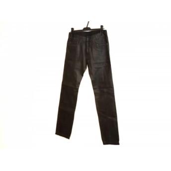 【中古】 ディーゼル DIESEL パンツ サイズ28 メンズ PAJONI 黒 コーティング加工