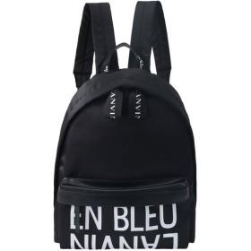 LANVIN en Bleu ランバン オン ブルー ロゴリュック ブラック
