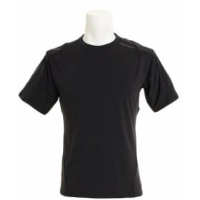 ツー・タイムズ・ユー(2XU)【オンライン特価】ストレッチニット 半袖Tシャツ MR6009A-BLK/BLK (Men's)