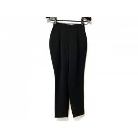 【中古】 エンフォルド ENFOLD パンツ サイズ36 S レディース 美品 黒 ウエストゴム