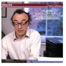 ハイドン:ピアノ・ソナタ第52・40・37番/アルフレッド・ブレンデル