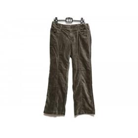 【中古】 ニジュウサンク パンツ サイズ46 XL レディース ダークブラウン Vingt-trois arrondissements