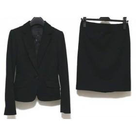 【中古】 アンタイトル UNTITLED スカートスーツ サイズ0 XS レディース 黒