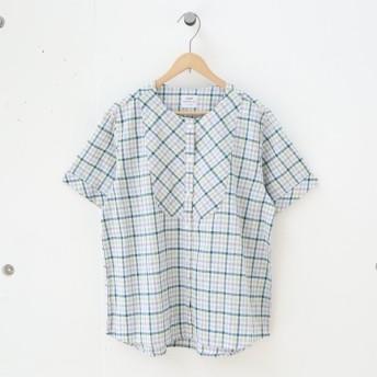 [マルイ]【セール】綿麻チェックシャツブラウス/コーエン(レディース)(coen)