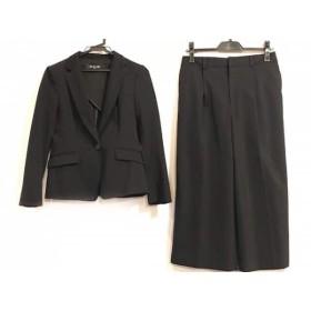 【中古】 ミッシェルクラン MICHELKLEIN レディースパンツスーツ サイズ38 M レディース 黒