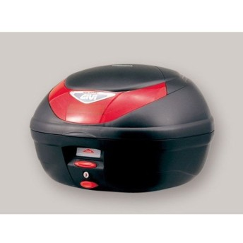 GIVI ツーリング用ボックス モノロックケース FLOWシリーズ(ストップランプ無し) タイプ:未塗装ブラック 送料無料 ジビ