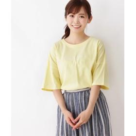 3can4on(Ladies)(サンカンシオン(レディース)) ロゴビッグTシャツ