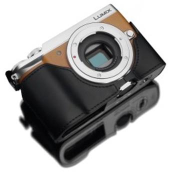 GARIZ Panasonic LUMIX DMC-GX7MK2用 本革カメラケース XS-CHGX7MK2BK ブラック
