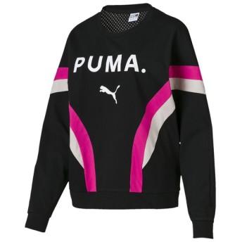 レディーススポーツウェア スポーツカジュアルトップス CHASE LS トップ レディース PUMA (プーマ) 57921301 ブラック