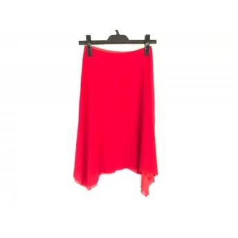 【中古】 ヴィヴィアンタム VIVIENNE TAM スカート サイズ0 XS レディース レッド