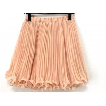 【中古】 フレイアイディー FRAY I.D スカート サイズ1 S レディース ピンク プリーツ