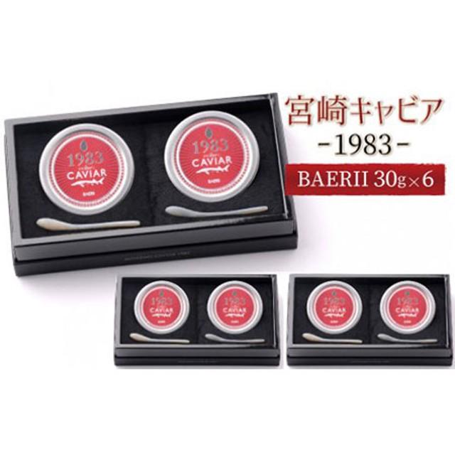 MIYAZAKI CAVIAR 1983 BAERII(30g)6個セット