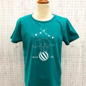 20%OFFsale! サーカスぞうさんTシャツ グリーン
