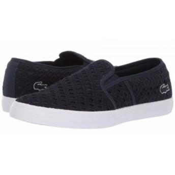 Lacoste ラコステ レディース 女性用 シューズ 靴 スニーカー 運動靴 Gazon 219 1 CFA Navy/White【送料無料】