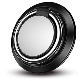 鏡機能 スマホ おしゃれ 超薄型 リングスタンド ... リング 車載ホルダー マグネット式 指輪リング リング バンカーリング