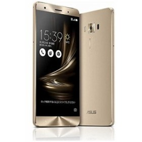 ASUS SIMフリースマートフォン ZenFone 3 Deluxe ゴールド ZS570KL-GD256S6(中古品)