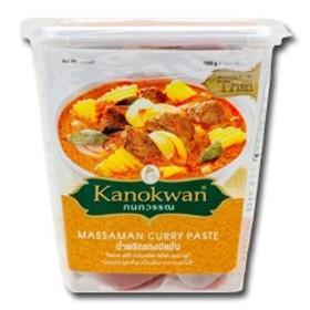【送料無料】ユウキ食品 カノワン マッサマンカレーペースト1kg×1ケース(全12本)