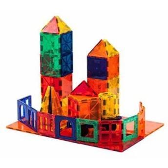 マグネットブロック おもちゃ 誕生日 プレゼント 知育玩具 クリスマス 60ピース 磁石 ブロック