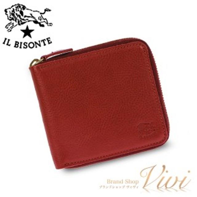 イルビゾンテ 二つ折り財布 メンズ IL BISONTE 二つ折り財布 C0990 245 ラッピング無料 UE9085 送料無料