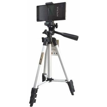 スマホ カメラ 軽量タイプ セット 三脚 スマホ固定アタッチメントホルダー アルミ製