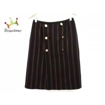 ダーマコレクション 巻きスカート サイズ67~93 レディース ネイビー×レッド×アイボリー スペシャル特価 20190817
