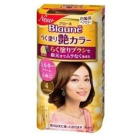 ブローネ らく塗り艶カラー 4-ライトブラウン 100g (医薬部外品) / 花王 ブローネ