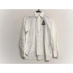 【中古】 ラルフローレン RalphLauren 長袖シャツブラウス サイズ7 S レディース 白 刺繍