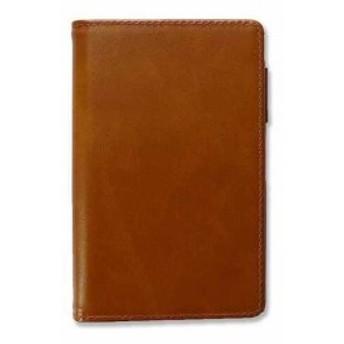 ミニ6) ブラウン[PB701130BN](茶色, システム手帳バインダー ミニ6穴サイズサイズ