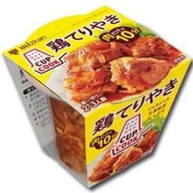 【送料無料】ミツカン CUPCOOK 鶏てりやきのたれ210g(2~3人前)×1ケース(全8カップ)