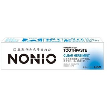 ノニオ ハミガキ クリアハーブミント 30g (医薬部外品) / ライオン NONIOノニオ