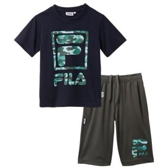 【FILA】Tスーツ(Tシャツ+ハーフパンツ)(男の子 女の子 子供服 ジュニア服) キッズジャージ
