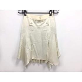 【中古】 ルイヴィトン LOUIS VUITTON スカート サイズ36 S レディース アイボリー