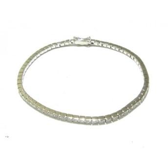 【中古】 スタージュエリー STAR JEWELRY ブレスレット K18WG ダイヤモンド 0.58カラット/テニスブレス