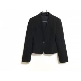 【中古】 アナイ ANAYI ジャケット サイズ38 M レディース 黒 ラメ