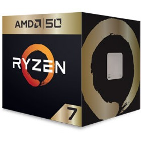 Ryzen 7 2700X 50th Anniversary Edition with Wraith Prism cooler BOX品