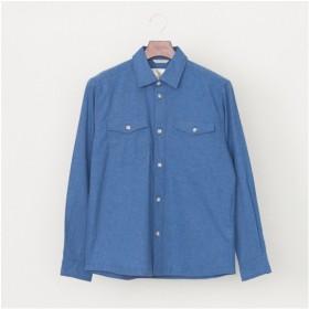 [マルイ]【セール】色落ちしづらいシャツブルゾン/ゴールデンベア(メンズ)(GoldenBear)