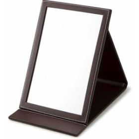 スタンドミラーS 卓上ミラー 鏡 スタンドミラー 卓上 折りたたみ ミラー