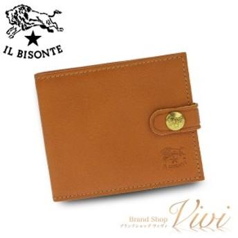 イルビゾンテ 二つ折り財布 メンズ IL BISONTE 二つ折り財布 C1007 145 ラッピング無料 UE9085 送料無料
